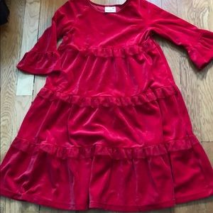 Hannah Andersson red dress size 8 (130)